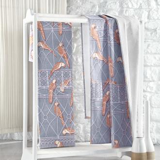 Полотенце для ванной Karna PARIS хлопковая махра/велюр (V7)