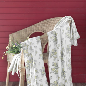 Полотенце для ванной Karna PARIS хлопковая махра/велюр (V5)