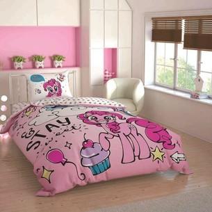 Детское постельное белье TAC MY LITTLE PONY SWEET DREAMS хлопковый ранфорс 1,5 спальный