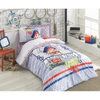 Комплект детского постельного белья Cotton Box GIRLS & BOYS AHOOY хлопковый ранфорс (голубой)