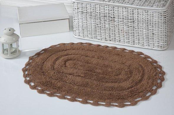 Коврик для ванной Modalin YANA хлопок (горчичный) 50*70, фото, фотография