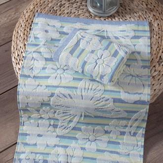 Кухонное полотенце Karna MARIPOSA хлопковая махра (зелёный)