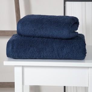 Полотенце для ванной Karna APOLLO хлопковый микрокоттон синий 45х60