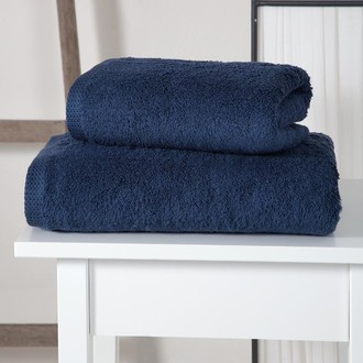 Полотенце для ванной Karna APOLLO хлопковый микрокоттон (синий)