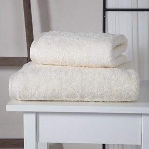 Полотенце для ванной Karna APOLLO хлопковый микрокоттон кремовый 45х60