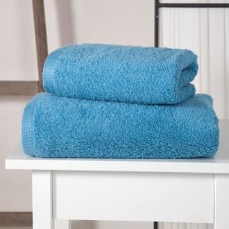 Полотенце для ванной Karna APOLLO хлопковый микрокоттон (голубой)