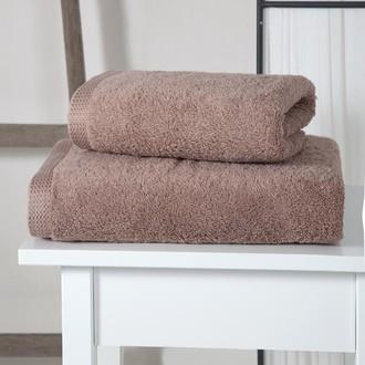 Полотенце для ванной Karna APOLLO хлопковый микрокоттон (бежевый)