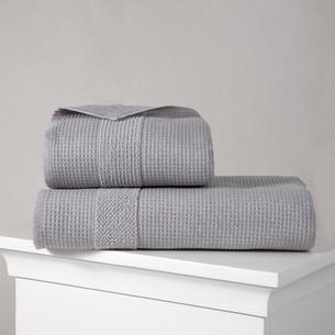 Полотенце для ванной Karna TRUVA микрокоттон хлопок серый 90х150