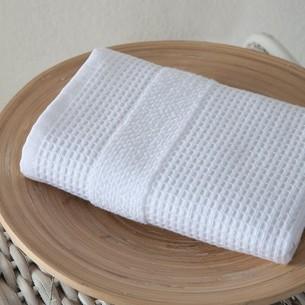 Кухонное полотенце Karna TRUVA хлопковый микрокоттон белый 40х60