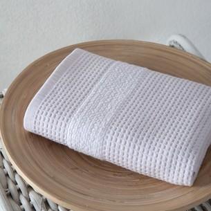 Кухонное полотенце Karna TRUVA хлопковый микрокоттон светло-розовый 40х60