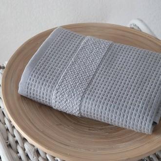 Кухонное полотенце Karna TRUVA хлопковый микрокоттон серый