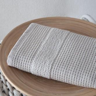 Кухонное полотенце Karna TRUVA хлопковый микрокоттон бежевый