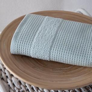 Кухонное полотенце Karna TRUVA хлопковый микрокоттон зелёный 40х60