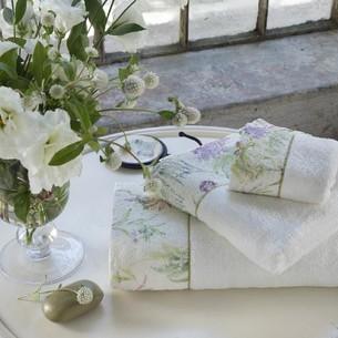 Полотенце для ванной Tivolyo Home NORA хлопковая махра кремовый 30х50