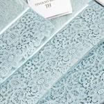 Постельное белье Tivolyo Home FORZA хлопковый сатин делюкс бирюзовый 1,5 спальный, фото, фотография