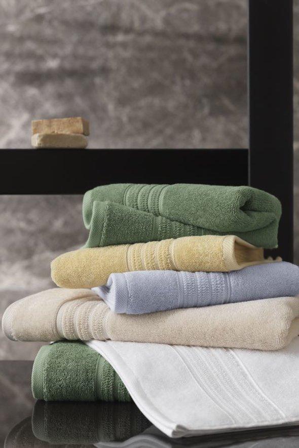 Набор полотенец для ванной 50*100, 75*150 Soft Cotton ARIA хлопковая махра белый, фото, фотография