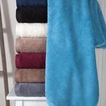 Полотенце для ванной Karna APOLLO хлопковый микрокоттон бордовый 45х60, фото, фотография