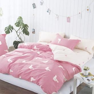 Комплект подросткового постельного белья Karna DELUX ALIEN хлопковый сатин