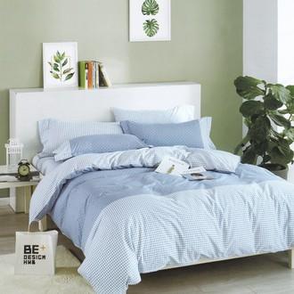 Комплект подросткового постельного белья Karna DELUX SERVIN хлопковый сатин (сиреневый)