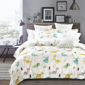 Комплект подросткового постельного белья Karna DELUX TALEN хлопковый сатин V1