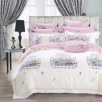 Комплект подросткового постельного белья Karna DELUX MERY хлопковый сатин