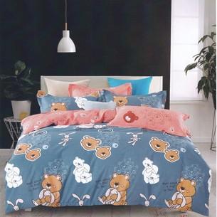 Комплект подросткового постельного белья Karna DELUX BEALS хлопковый сатин 1,5 спальный