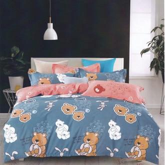 Комплект подросткового постельного белья Karna DELUX BEALS хлопковый сатин