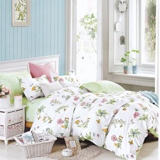 Комплект подросткового постельного белья Karna DELUX JULEE хлопковый сатин