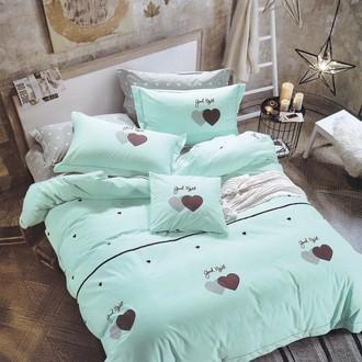 Комплект подросткового постельного белья Karna DELUX LOVE ME хлопковый сатин