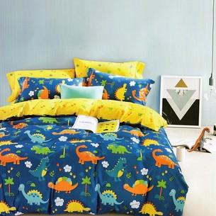 Комплект подросткового постельного белья Karna DELUX DEER хлопковый сатин 1,5 спальный