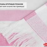 Банное полотенце пештемаль Hobby Home Collection STRIPE хлопок розовый 70х140, фото, фотография
