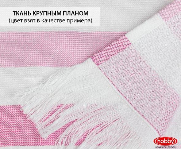 Банное полотенце пештемаль Hobby Home Collection STRIPE хлопок розовый 70*140, фото, фотография