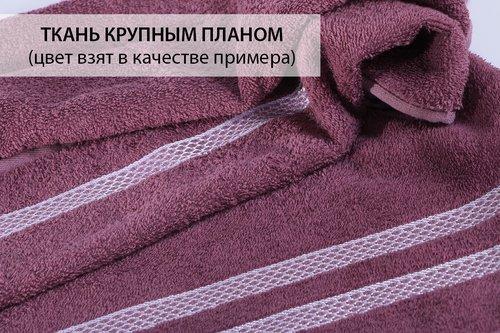 Полотенце для ванной Karna PETEK хлопковая махра бежевый 30х30, фото, фотография