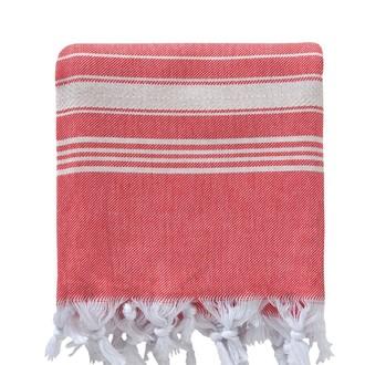 Полотенце пештемаль для бани, сауны, пляжа Karna PESHTEMAL хлопок (V14)