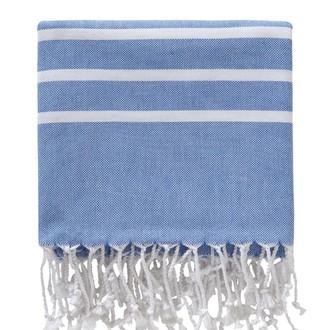 Полотенце пештемаль для бани, сауны, пляжа Karna PESHTEMAL хлопок (V16)