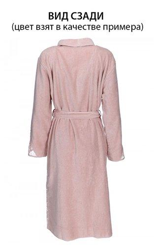 Халат женский Soft Cotton HAZEL хлопковая махра светло-бежевый M, фото, фотография