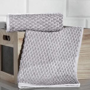 Кухонное полотенце Karna DAMA хлопковая махра кофейный 40х60