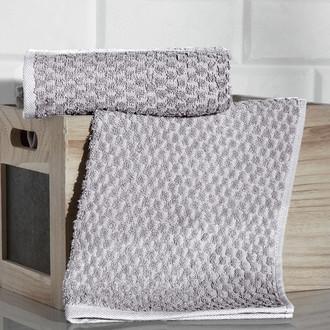 Кухонное полотенце Karna DAMA хлопковая махра (кофейный)