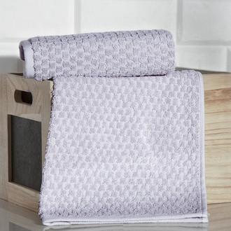 Кухонное полотенце Karna DAMA хлопковая махра (серый)