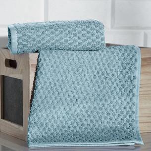 Кухонное полотенце Karna DAMA хлопковая махра зелёный 40х60