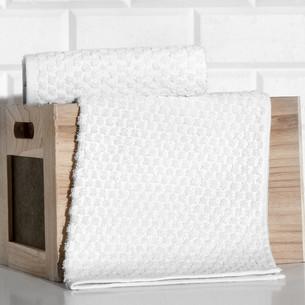Кухонное полотенце Karna DAMA хлопковая махра кремовый 40х60