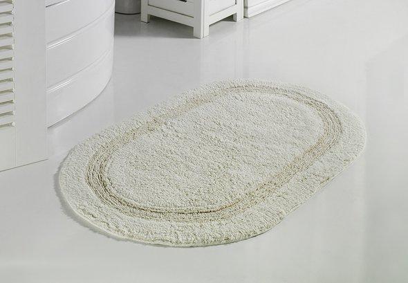 Коврик для ванной Modalin RACET хлопок (кремовый) 60*100, фото, фотография