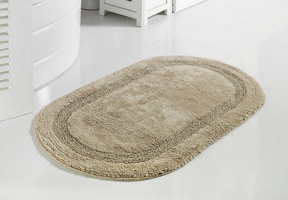 Коврик для ванной Modalin RACET хлопок (бежевый) 60*100, фото, фотография