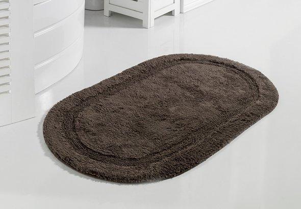 Коврик для ванной Modalin RACET хлопок (коричневый) 60*100, фото, фотография