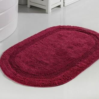 Коврик для ванной Modalin RACET хлопок (бордовый)