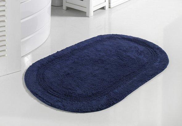 Коврик для ванной Modalin RACET хлопок (синий) 60*100, фото, фотография