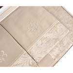 Постельное белье Tivolyo Home VITALY сатин-жаккард семейный, фото, фотография