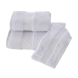 Полотенце для ванной Soft Cotton DELUXE махра хлопок/модал голубой 75х150