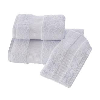Полотенце для ванной Soft Cotton DELUXE махра хлопок/модал голубой 50*100