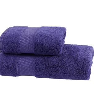 Полотенце для ванной Soft Cotton DELUXE махра хлопок/модал фиолетовый 75х150